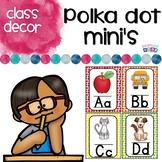 Alphabet Word Wall Cards & ABC Chart