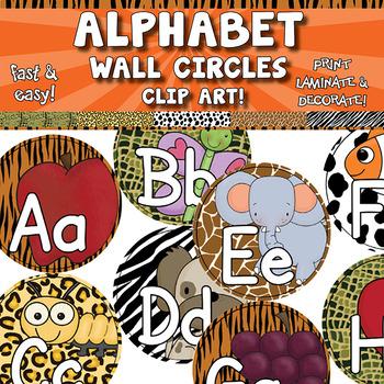 Alphabet Word Wall Circles APT-001