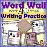 Alphabet Posters, Flash Cards & Worksheets