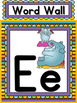 Alphabet Posters, Flash Cards & Worksheets