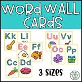 Alphabet Word Wall Header Cards