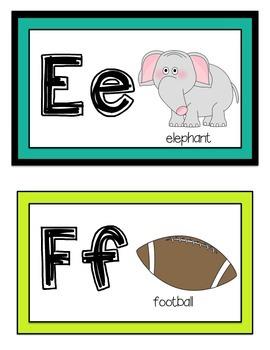 Alphabet Word Wall Headers