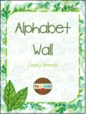 Alphabet Word Wall Kit – Leafy Garden