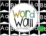 Alphabet - Word Wall - Letters