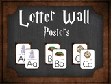 Alphabet Word Wall Letters: Harry Potter Inspired