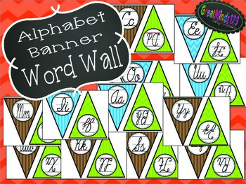 Word Wall, Alphabet, and Dictionary