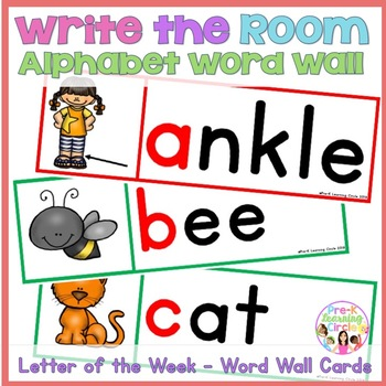 Alphabet Word Wall(Write the Room)