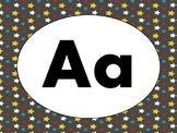 Alphabet/Word Wall headers - SUPERHERO theme