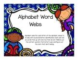 Alphabet Word Webs