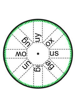 Alphabet Word Wheels