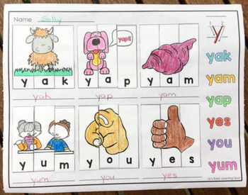 Alphabet Word and Picture Puzzles: Solve and Write