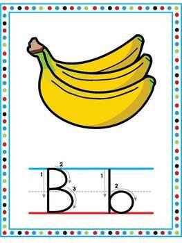 Alphabet / Word wall / ABC / Handwriting / Penmanship / Flash cards / Tracing