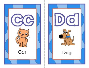 Alphabet Word-wall Posters, Colourful Alphabet Pages and Black line Masters