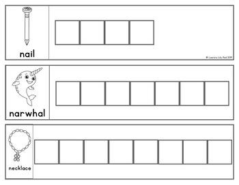 Alphabet Words Letter Tiles Cards