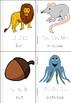 Alphabet Words Minibook (in color)