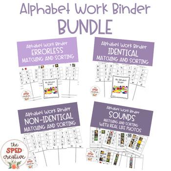 Alphabet Work Binder Bundle
