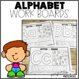 Alphabet Work Boards