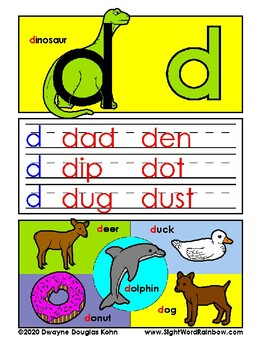 Alphabet Student Workbook: ABC Jungle