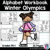 Alphabet Workbook: Worksheets A-Z Winter Olympics 2018
