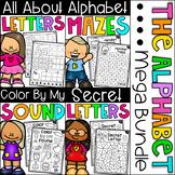 Alphabet Worksheet Bundle - Letter Work and Beginning Sounds
