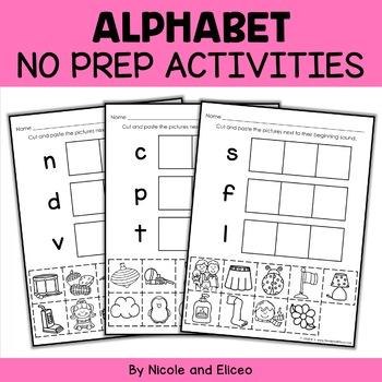 Alphabet Worksheets 1