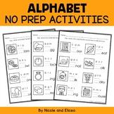 Alphabet Worksheets 2