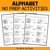Alphabet Worksheets 2