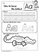 Alphabet Worksheets ( Trace and Color )