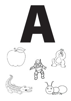 Alphabet Worksheets: ABC