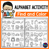 Alphabet Letter Recognition Worksheets - Beginning Sounds