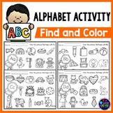 Alphabet Letter Recognition Worksheets - Beginning Sounds Worksheets
