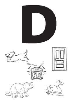 Alphabet Worksheets: DEF
