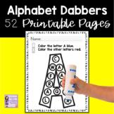 Alphabet Worksheets | Fine Motor | Printable Packets for D