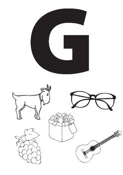 Alphabet Worksheets: GHI
