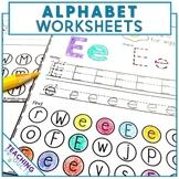 Alphabet Worksheets - Learn each letter of the alphabet
