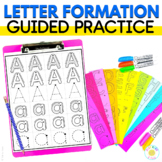 Alphabet Worksheets | Letter Formation | Path of Motion Tr