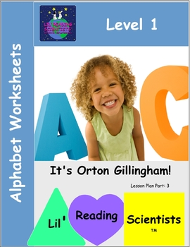 Alphabet Worksheets: Letter Names and Sounds (OG)