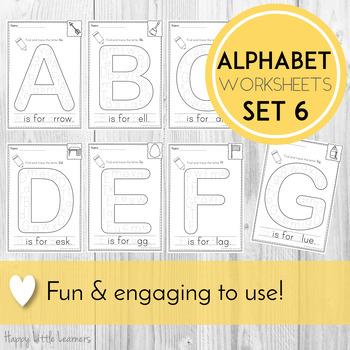 Alphabet Worksheets Letter Search