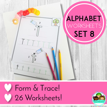 Alphabet Worksheets Letter Writing and Formation