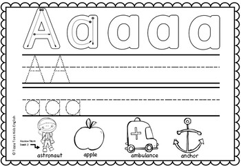 Alphabet Worksheets Lower Case and Upper case