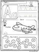 Alphabet Worksheets (Set 1)