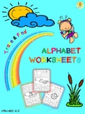 Alphabet Worksheets (Set 1)