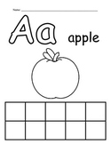 Alphabet Worksheets - Single Set - Level 2