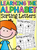 Alphabet Worksheets - Sorting Lower and Upper Letters