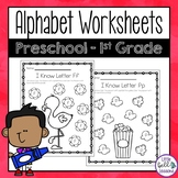 Alphabet Worksheets - Uppercase and Lowercase Letters