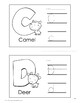 Make an Alphabet Wall Chart! Great for daily review!