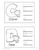 Alphabet Worksheets & Wall Chart