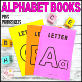 Alphabet Worksheets and Matching Booklet with Rhyming Couplets A to Z