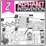 Alphabet Worksheets for Intervention | Letter Z