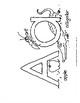 "Alphabet Worksheets in Black/White - 8.5""x11"""